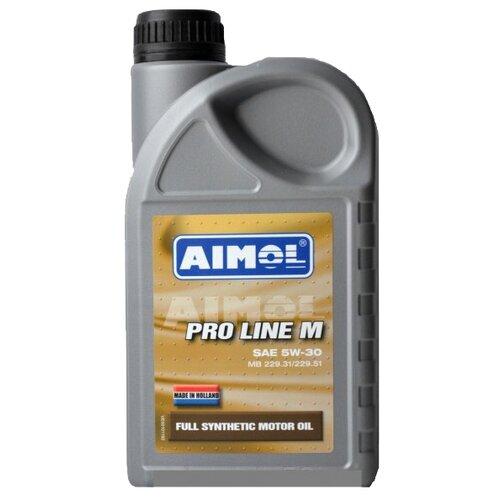 Моторное масло Aimol Pro Line M 5W-30 1 л моторное масло aimol pro line f 5w 30 1 л 8717662396557
