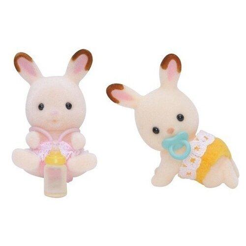 Купить Игровой набор Sylvanian Families Шоколадные кролики-двойняшки 3217/5080, Игровые наборы и фигурки