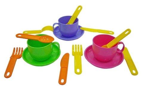 """Набор посуды Полесье """"Минутка"""" на 3 персоны 9561"""