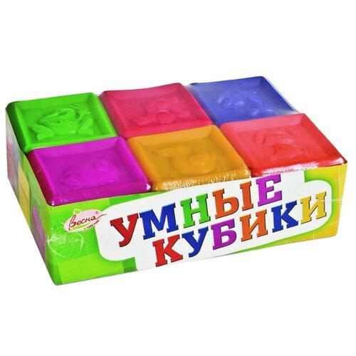 Купить Кубики Весна Умные В1729, Детские кубики