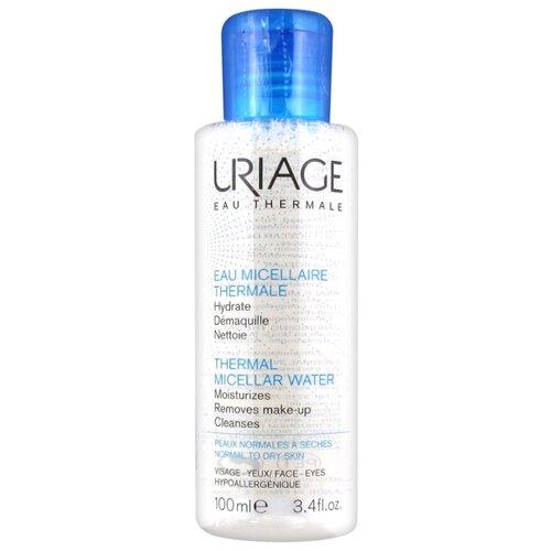 Uriage мицеллярная вода очищающая для нормальной и сухой кожи Demaquillante, 100 мл uriage мицеллярная вода очищающая для чувствительной склонной к покраснению кожи 100 мл