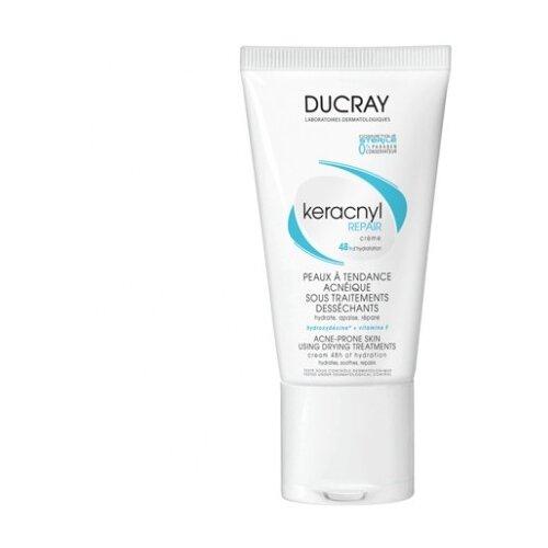 Ducray Keracnyl Восстанавливающий крем Repair creme, 50 мл ducray неоптид лосьон от выпадения волос для мужчин 100 мл