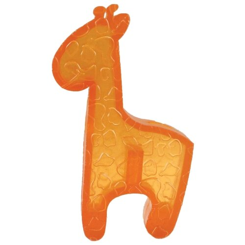 Игрушка для собак KONG Squeezz ZOO Жираф малый (PV13E) оранжевый игрушка для собак kong squeezz zoo слон