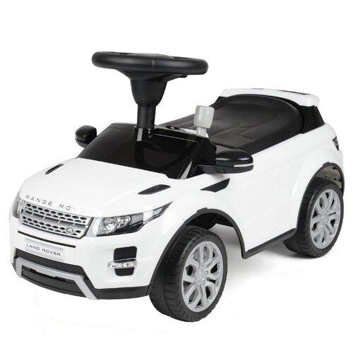 Купить Каталка-толокар RT Land Rover Evoque (156767) со звуковыми эффектами белый, Каталки и качалки