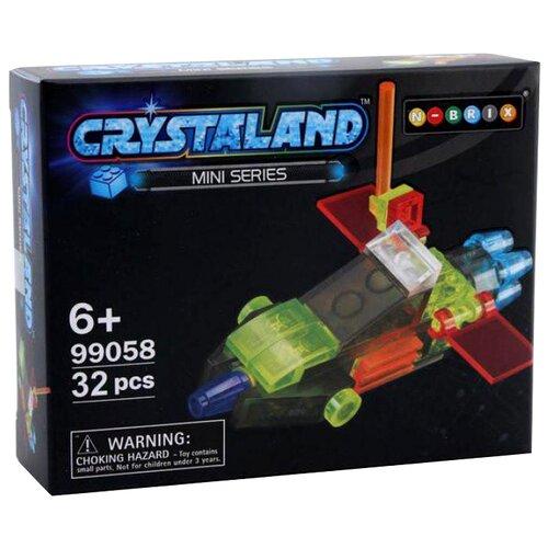 Конструктор Crystaland Mini Series 99058 Беспилотный самолетКонструкторы<br>