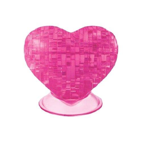 3D-пазл Crystal Puzzle Сердце розовое (90002) 46 дет..