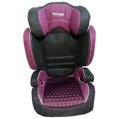 Автокресло группа 2/3 (15-36 кг) Kenga BH2311i premium Isofix, фиолетовый
