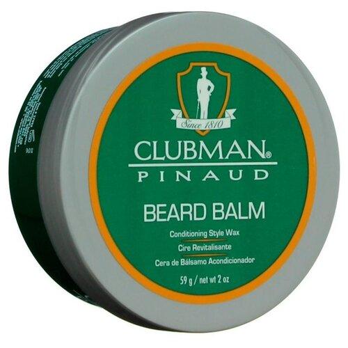 Clubman Бальзам-фиксатор для бороды Beard Balm, 59 г