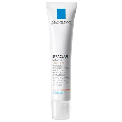 La Roche-Posay Корректирующий крем-гель для проблемной кожи с тонирующим эффектом Effaclar Duo(+), 40 мл la roche posay effaclar крем h увлажняющий успокаивающий 40 мл