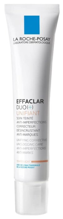 La Roche-Posay Корректирующий крем-гель для проблемной кожи с тонирующим эффектом Effaclar Duo(+) — купить по выгодной цене на Яндекс.Маркете