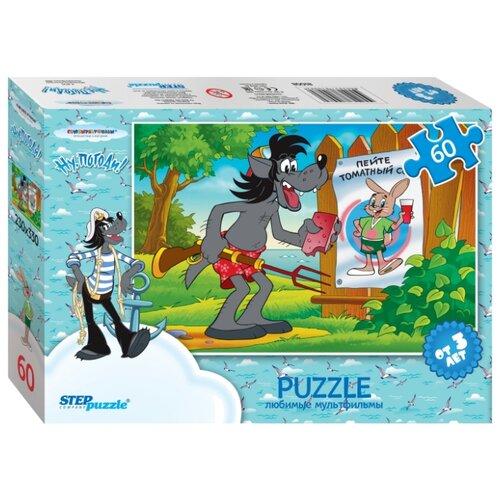 Пазл Step puzzle Ну, погоди! пляж (81008), 60 дет. step puzzle кубики ну погоди