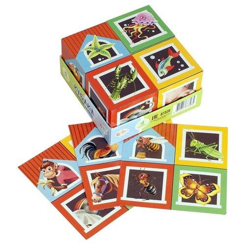 Купить Кубики-пазлы Step puzzle Baby step Строим домик 87328, Детские кубики