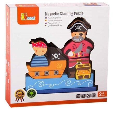 Магнитный конструктор Viga Пираты, Конструкторы  - купить со скидкой