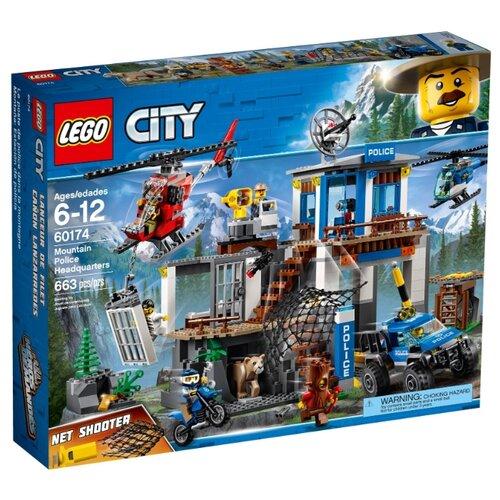 Купить Конструктор LEGO City 60174 Полицейский участок в горах, Конструкторы