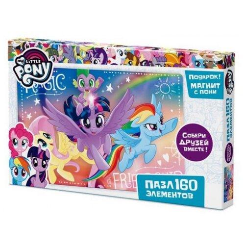 Пазл Origami My Little Pony Флаттершай, Сумеречная Искорка и Радуга Дэш (03426), 160 дет., Пазлы  - купить со скидкой