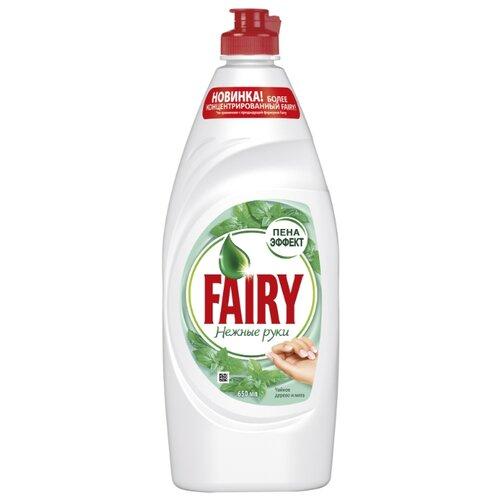 Fairy Средство для мытья посуды Чайное дерево и мята 0.65 лДля мытья посуды<br>