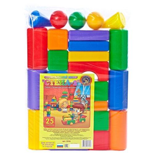 Купить Кубики Строим вместе счастливое детство Стена-2 5246, Детские кубики