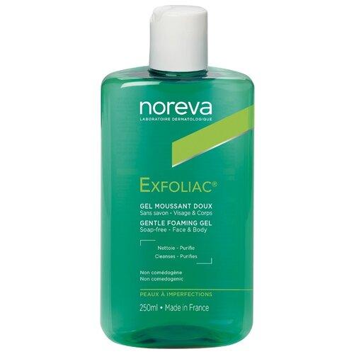 Noreva laboratories Exfoliac Гель Gel moussant doux, 250 мл noreva exfoliac gel doux nettoyant purifiant