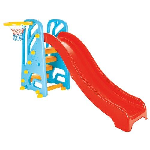 Купить Горка pilsan Горка с кольцом красный/голубой, Игровые и спортивные комплексы и горки