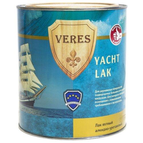 Лак яхтный VERES Yacht Lak полуматовый алкидно-уретановый 2.5 л