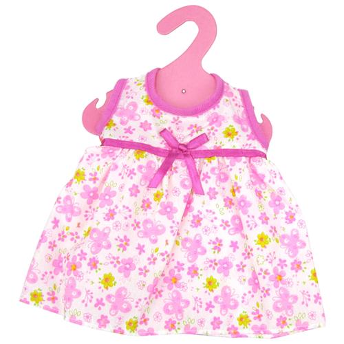 junfa toys комплект одежды для кукол blc11 белый синий Junfa toys Летнее платье для кукол GC18-12 белый/розовый/фиолетовый