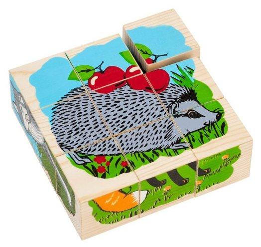 Кубики-пазлы Томик Животные леса 4444-4