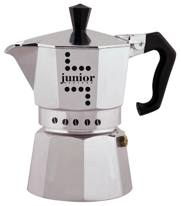Кофеварка Bialetti Junior (180 мл) серебристый