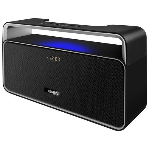 Портативная акустика SVEN PS-185, черный портативная акустика sven ps 230 черный