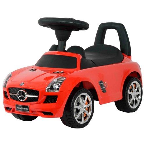 Каталка-толокар Chi lok BO Mercedes-Benz SLS AMG (Z332) со звуковыми эффектами красный каталка chilok bo машинка бентли красный 326