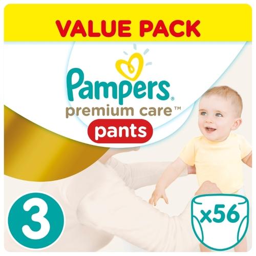 Купить Pampers Premium Care трусики 3 (6-11 кг) 56 шт. по выгодной ... 9568df18c0b