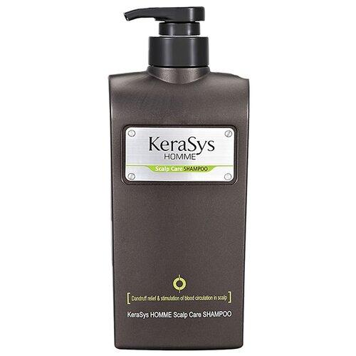 KeraSys шампунь Homme Scalp Care Лечение кожи головы для мужчин 550 мл с дозатором шампунь kerasys kerasys ke013lwujr50