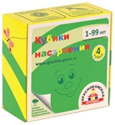 Кубики-пазлы Краснокамская игрушка Настроения КУБ-05