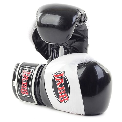 Боксерские перчатки Jabb JE-2022 черный/белый 10 oz боксерские перчатки venum challenger 2 0 черный белый вес 10 унций