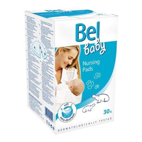 Bel baby Вкладыши в бюстгальтер белый 30 шт. гигиена для мамы hartmann вкладыши для кормящей мамы bel baby nursing pads 30 шт