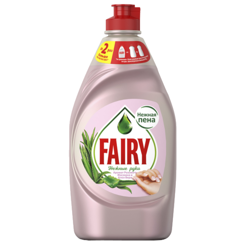 Fairy Средство для мытья посуды Розовый жасмин и алоэ вера 0.45 л