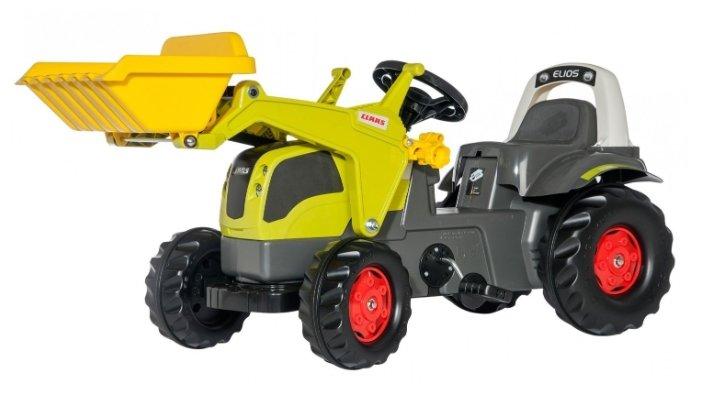 Веломобиль Rolly Toys Kid Claas Elios с ковшом (25077)