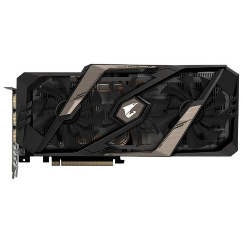 Видеокарта GIGABYTE GeForce RTX 2080 1845MHz PCI-E 3.0 8192MB 14000MHz 256 bit 3xHDMI HDCP AORUS RetailВидеокарты<br>