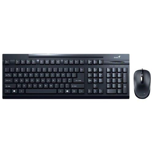цена на Клавиатура и мышь Genius KM-125 Black USB
