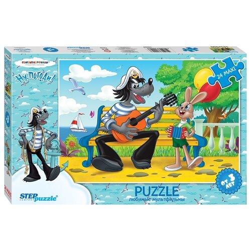 Пазл Step puzzle Союзмультфильм Ну,погоди! - 2 (70009), 24 дет. step puzzle кубики ну погоди