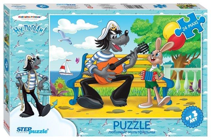 Пазл Step puzzle Союзмультфильм Ну,погоди! - 2 (70009), 24 дет.