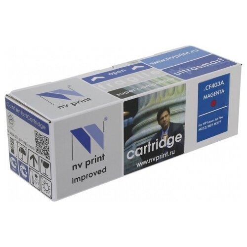 Фото - Картридж NV Print CF403A для HP, совместимый картридж nv print cf280x ce505x для hp совместимый