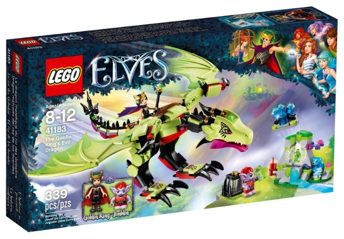 Конструктор LEGO Elves 41183 Зловещий дракон короля гоблинов