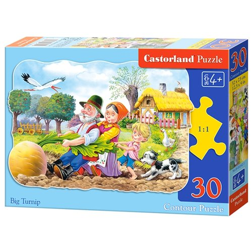 Купить Пазл Castorland Turnip (B-03242), 30 дет., Пазлы