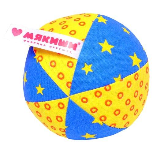 Купить Погремушка Мякиши Мяч Малыш 369 желтый/синий/зеленый, Погремушки и прорезыватели