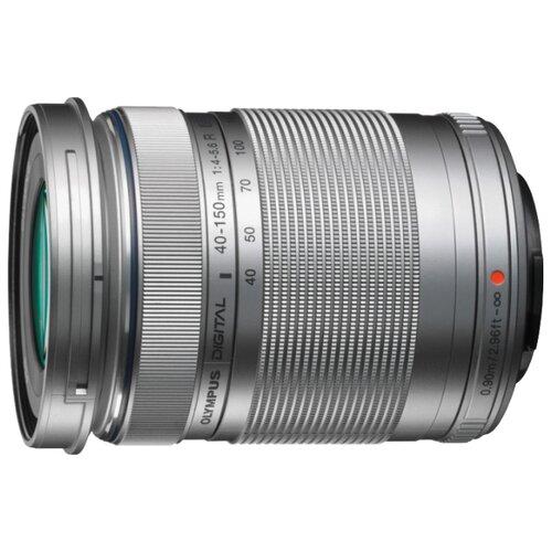 Фото - Объектив Olympus ED 40-150mm f/4.0-5.6 R Micro 4/3 серебристый объектив olympus zuiko ed 40 150 mm f 4 0 5 6