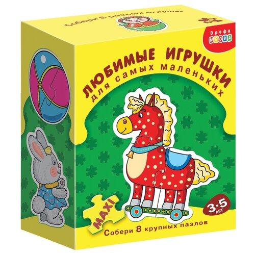 Купить Набор пазлов Дрофа-Медиа ДСМ Любимые игрушки (1090), Пазлы