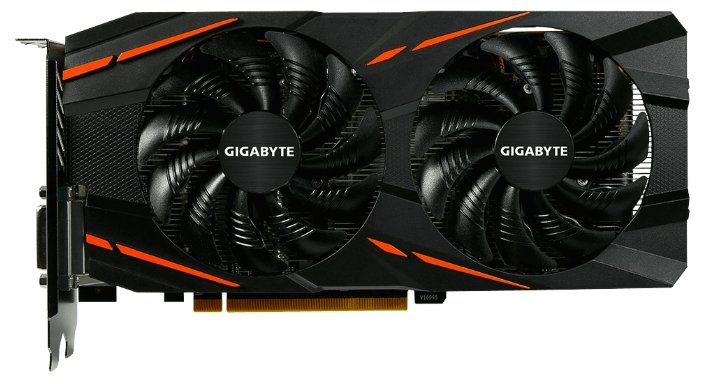 GIGABYTE Radeon RX 580 1340Mhz PCI-E 3.0 8192Mb 8000Mhz 256 bit DVI HDMI HDCP Gaming
