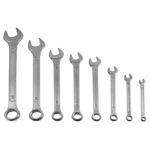 цена на Набор гаечных ключей KROFT (8 предм.) 210108 серебристый