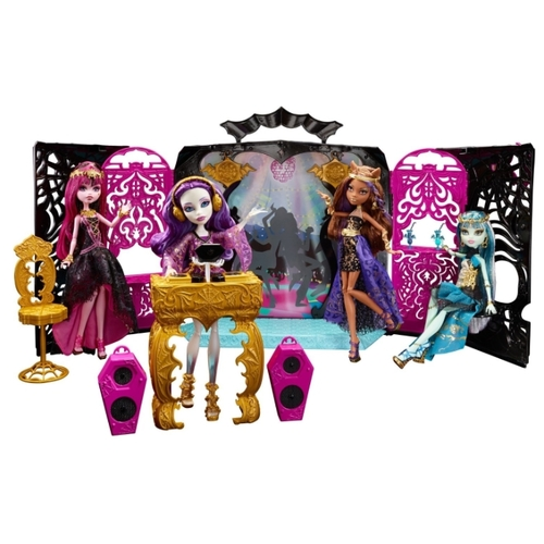 Набор Monster High 13 желаний Спектра Вандергейст с диджейской установкой, 27 см, Y7720