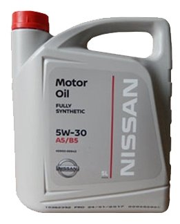 Масло моторное NISSAN KE900-99943VA 5W-30 5л